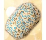 Nekupto Klubíčko Luxus béžovo-modro-zlaté 1 cm x 10 m KB 189 01