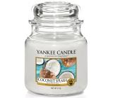 Yankee Candle Coconut Splash - Kokosové osvěžení vonná svíčka Classic střední sklo 411 g