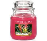 Yankee Candle Tropical Jungle - Tropická džungle vonná svíčka Classic střední sklo 411 g