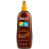 Astrid Sun OF30 olej na opalování 200 ml sprej
