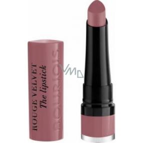 Bourjois Rouge Velvet The Lipstick rtěnka 18 Mauve-Martre 2,4 g