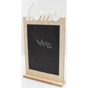 Nekupto Home Decor Dřevěná křídová tabule, deska 17 x 31 x 4 cm