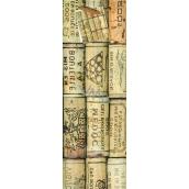 Nekupto Dárková papírová taška na láhev 10 x 33 x 9 cm 1760 01 KFLH