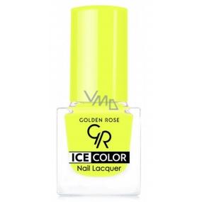 Golden Rose Ice Color Nail Lacquer lak na nehty mini 203 6 ml