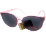 Dudes & Dudettes Sluneční brýle dětské světle růžové DD16015
