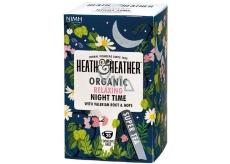 Heat & Heather Bio Pro dobrý spánek Heřmánek, máta, kozlík lékařský, chmel čaj 20 sáčků x 1 g