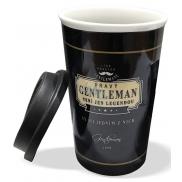 Nekupto Liga Pravých Gentlemanů Cestovní hrnek To Go Pravý gentleman není jen legendou 350 ml