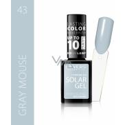 Revers Solar Gel gelový lak na nehty 43 Gray Mouse 12 ml