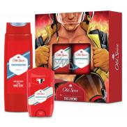 Old Spice White Water antiperspirant deodorant stick 50 ml + 2v1 sprchový gel na tělo a vlasy 250 ml, kosmetická sada pro muže