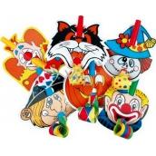 Frkačka s klaunem 6 kusů