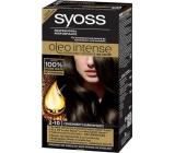 Syoss Oleo Intense Color barva na vlasy bez amoniaku 2-10 Černohnědý