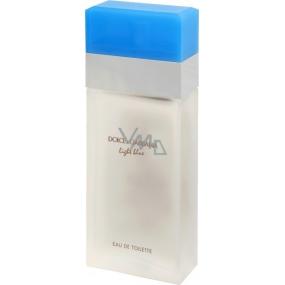 Dolce & Gabbana Light Blue toaletní voda pro ženy 100 ml Tester