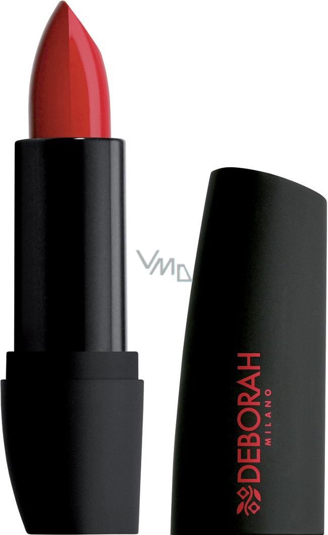 Deborah Milano Atomic Red Mat Lipstick Rtěnka 01 Cherry 25 G Vmd