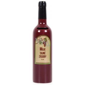 Albi Keramická pokladnička Vinná láhev Moje tajné zásoby