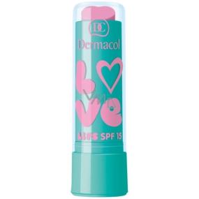 Dermacol Love Lips SPF15 balzám na rty 13 Vanilla 3,5 ml