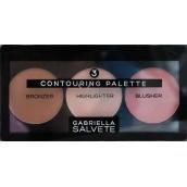 Gabriella Salvete Contouring Palette sada pro zvýraznění kontur obličeje 15 g