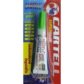 Cartell Super Glue univerzální sekundové lepidlo 3 g