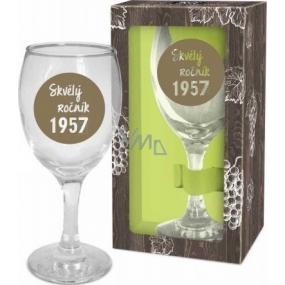 Albi Můj Bar Sklenka na víno 1957 220 ml