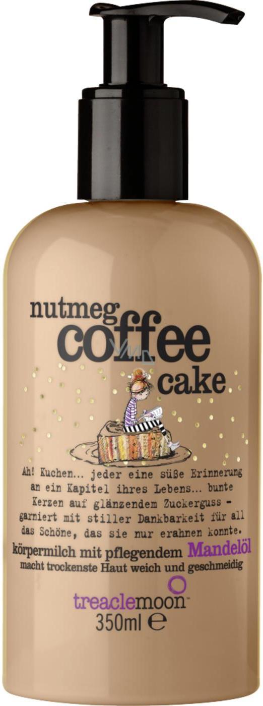 Treaclemoon Nutmeg Coffee Cake tělové mléko s dávkovačem 350 ml