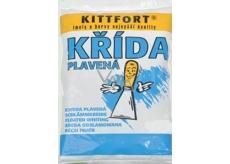 Kittfort Křída plavená, přísada pro zvýšení bělosti nátěrů, plnivo do tmelů, barev a jiných stavebních směsí 2 kg