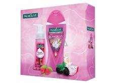 Palmolive Aroma Glamorous Raspberry sprchový gel 250 ml + tekuté pěnové mýdlo 250 ml, kosmetická sada