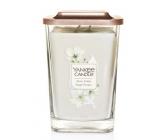 Yankee Candle Sheer Linen - Čisté prádlo sojová vonná svíčka Elevation velká sklo 2 knoty 552 g