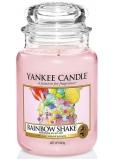 Yankee Candle Rainbow Shake - Duhový koktejl vonná svíčka Classic velká sklo 625 g Easter 2019