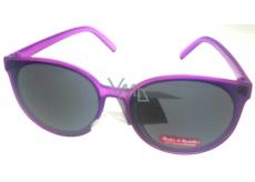 Dudes & Dudettes Sluneční brýle dětské fialové DD16015