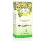 Dr. Popov Maté lemon bylinný čaj z Jižní Ameriky, aromatizovaný 30 g, 20 nálevových sáčků á 1,5 g