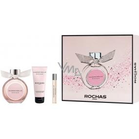 Rochas Mademoiselle Rochas parfémovaná voda pro ženy 90 ml + tělové mléko 100 ml + parfémovaná voda 7,5 ml, dárková sada