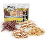 Calibra Joy Ryba a Kuře mix pamlsků doplňkové krmivo pro psy multipack 4 x 70 g