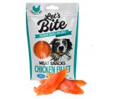 Brit Lets Bite Kuřecí filety doplňkové krmivo pro psy 80 g