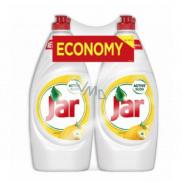 Jar Lemon Prostředek na ruční mytí nádobí 2 x 900 ml duopack