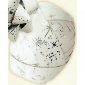 Nekupto Klubíčko Luxus bílé se stříbrnými detaily 1 cm x 10 m KB 216 02