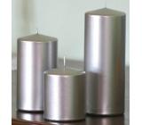 Lima Svíčka hladká metal stříbrná válec 60 x 120 mm 1 kus