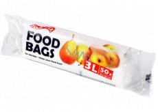 Folifix Food Bags Mikroténové sáčky bílé 3 litry, 25 x 35 cm 50 kusů