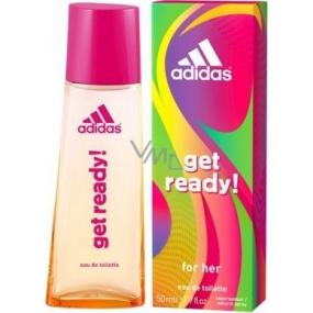 Adidas Get Ready! for Her toaletní voda 50 ml