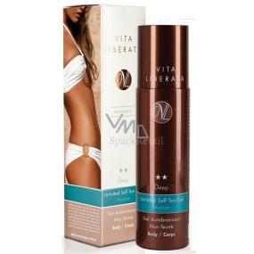 Vita Liberata Deep Samoopalovací bezbarvý gel na tělo střední odstín 200 ml