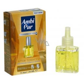 Ambi Pur After Tobacco elektrický osvěžovač vzduchu náhradní náplň 20 ml