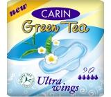 Carin Ultra Wings Green Tea hygienické vložky 9 kusů