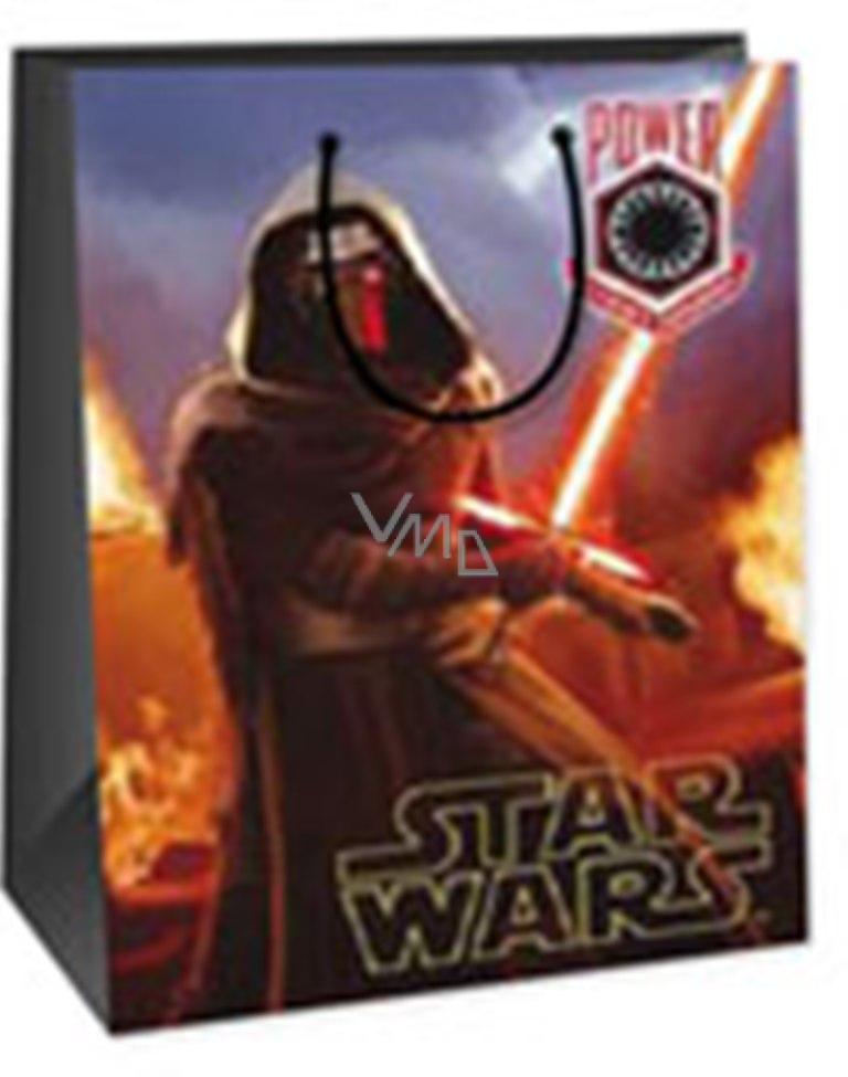 b0e655e93272c Ditipo Disney Dárková papírová taška dětská XL Star Wars Power 33 x 10,2 x  45,7 cm