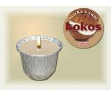 Lima Ozona Kokos vonná svíčka 115 g