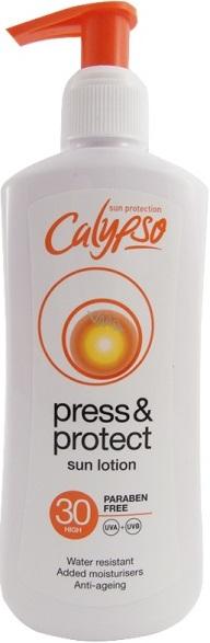 Calypso Press & Protect SPF30 mléko na opalování 200 ml