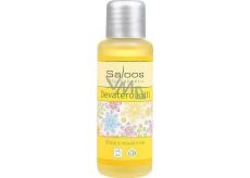 Saloos Devatero kvítí tělový a masážní olej úleva svalům, otokům bolavým zádům 50 ml