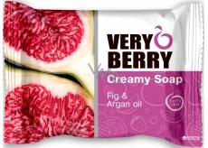 Very Berry Fig & Argan Oil - Fíky a arganový olej toaletní mýdlo s esencemi 100 g