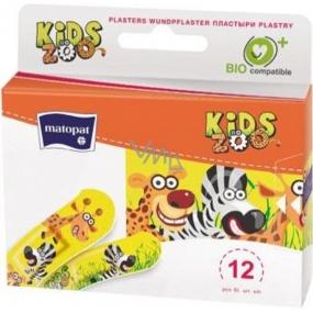 Matopat Kids Náplast barevná pro děti 12 kusů