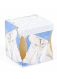 Albi Svěží prádlo vonná svíčka v krabičce, hoří 15 hodin 52 g