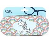 Albi Original Pouzdro na brýle plechové Jednorožec 15,7 x 6,2 x 3,2 cm