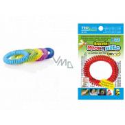 Trixline Mosquito Repelentní voděodolný náramek - gumička proti komárům s citriodiolem TR 351 1 kus, náhodný výběr barvy