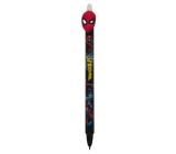 Colorino Gumovatelné pero Marvel Spiderman černé, modrá náplň 0,5 mm